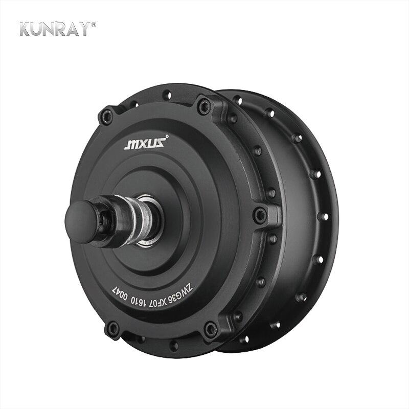 MXUS XF07 250W 24V 36V 48V Front Wheel Brushless Gear Hub Motor Electric Bicycle Conversion Kit