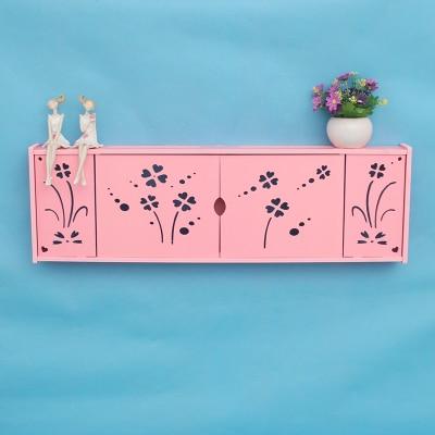 Creative Wall TV Set Top Box Holder Free Punch Shelf Living Room ...