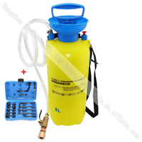 8 Liters Manually Operated Auto Transmission Oil Filling Pump Tool Set With 13pcs Adaptor Set For