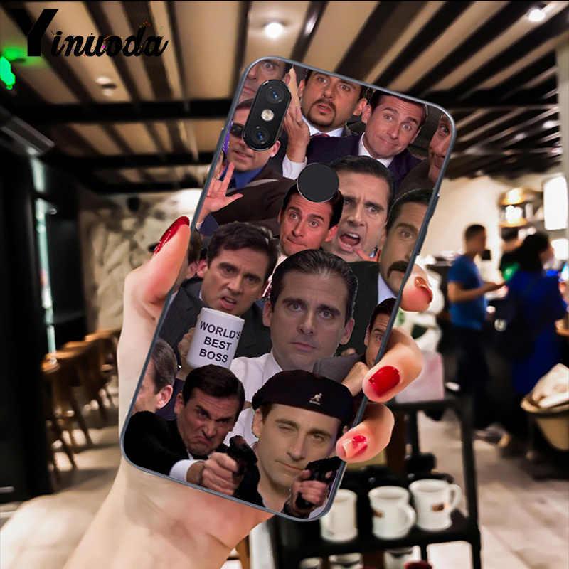 Yinuoda Kantor TV Menunjukkan Apa Yang Dia Bilang Shell Ponsel Case untuk Xiao Mi Redm4X 6A Merah Mi Pergi Merah MI 5 5Plus Note4 Note5 7 Mi A1 A2Lite