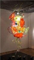 Stil Blick Murano Glas Kunst Kronleuchter Beleuchtung Luxus Kunst Decoartive Platten Design LED Kronleuchter