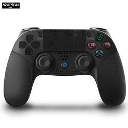 WUIYBN nowy bezprzewodowy kontroler gier z bluetooth Joystick do PS4 Gamepad konsoli Playstation 4 Dualshock 4 w Gamepady od Elektronika użytkowa na