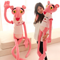 55cm Cute Cartoon Stuffed Toy Pink Panther T-Shirt Pink Panther Doll Girl Gift