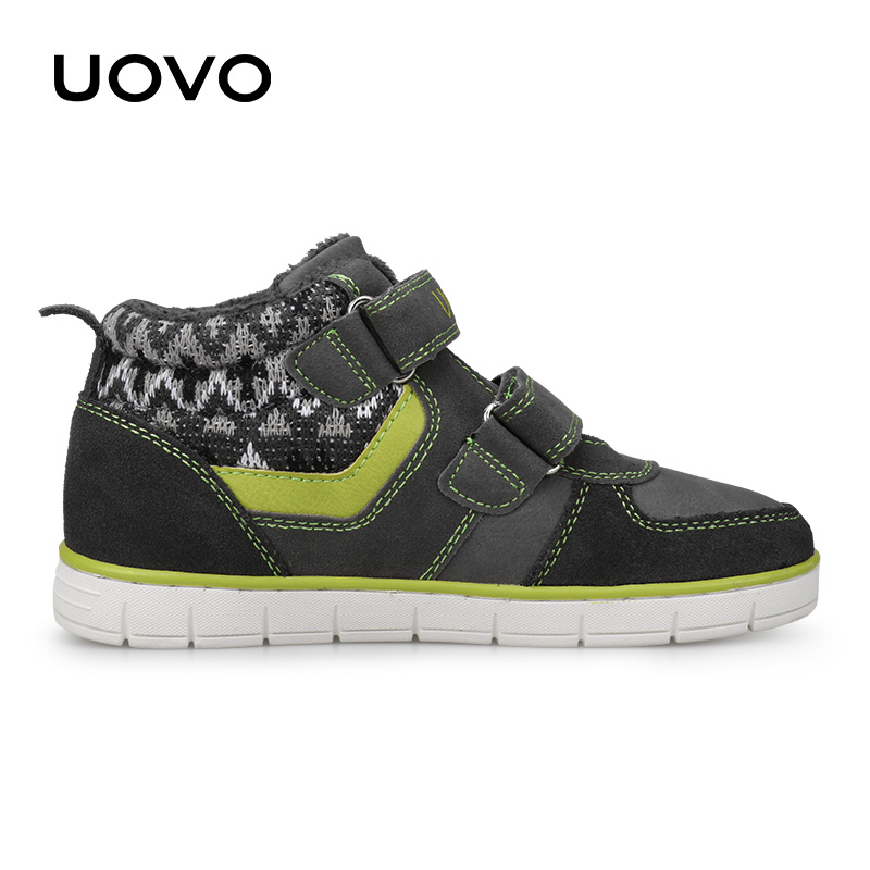Image 3 - UOVO Kids Casual Shoes 2019 New Fashion Boys And Girls Sneakers Autumn Winter Kids School Shoes Childrens Footwear Size 27# 35#Sneakers   -