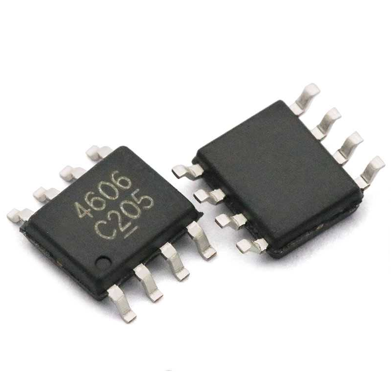10pcs  AO4606 SOP8 AO4606C SOP SMD 4606 N+P Channel High Voltage MOSFET Chip Mos Field Effect Transistor Switch