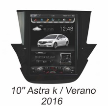 Otojeta Vertical 10 inch Android 6.0 car dvd player for OPEL ASTRA K 2016 gps navi headunit auto radio stereo