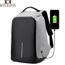 KNY KAVIN KK 2017 New Design Usb Charging Backpack Multi functional Big Capacity Backpacks 15 inch