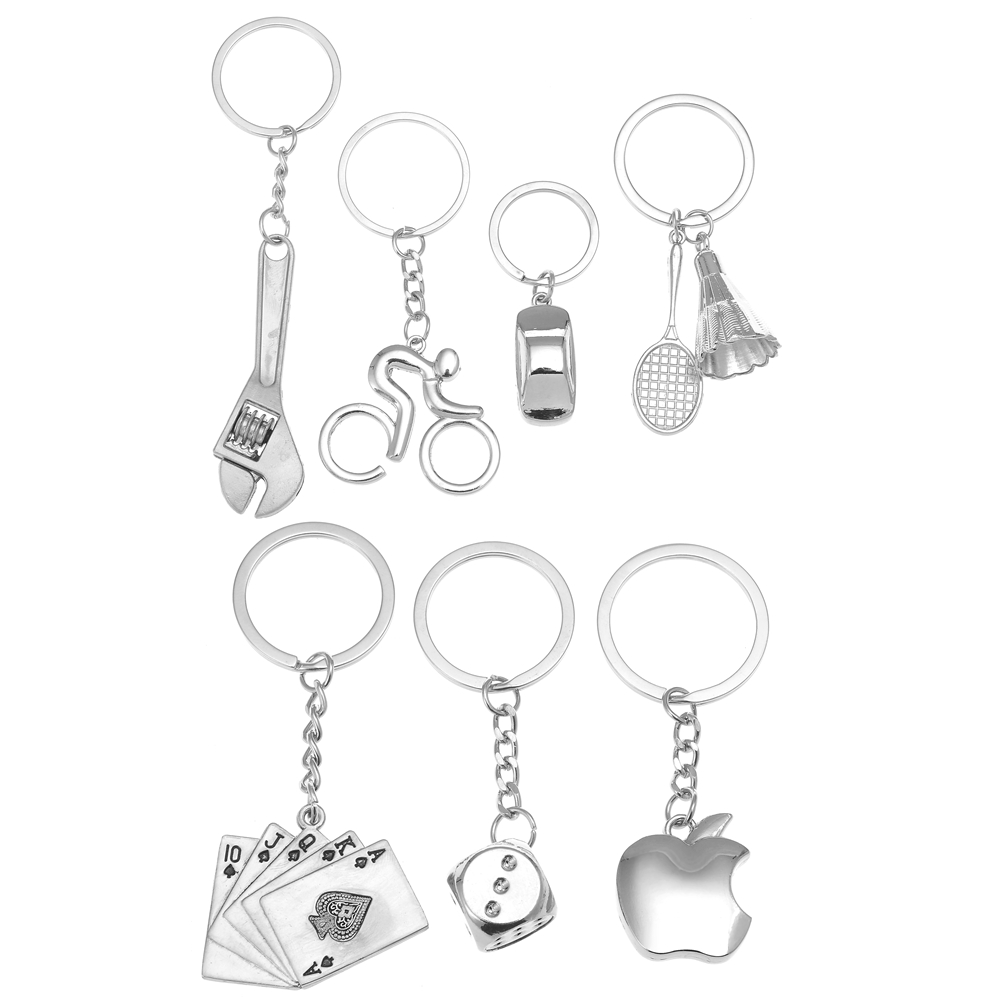 Key Ring Personality Wrench Car Accessories Alloy Metal Keyfob Gift Key Chain