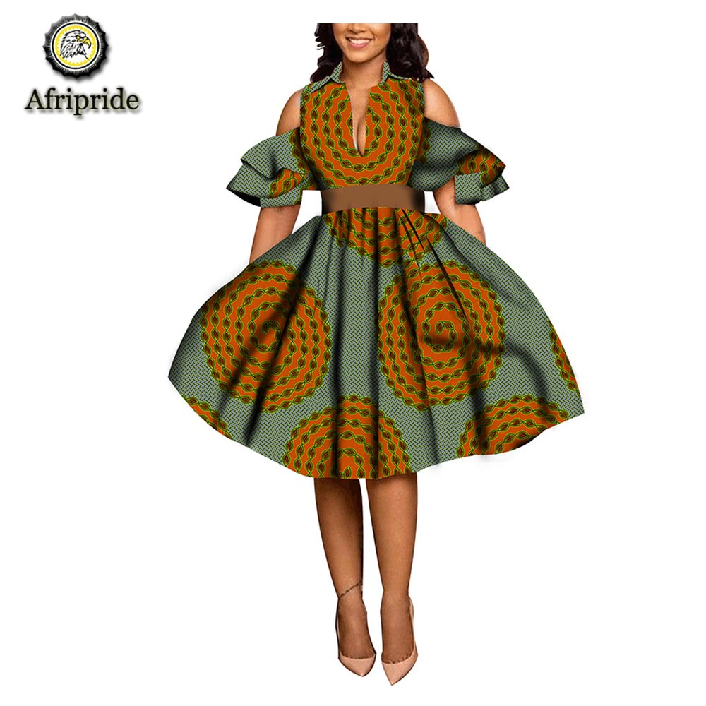 20182019 fashion african dress spring ankara print