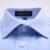 Verano 2016 Hombres Collar de Propagación Twill Solid Camisa de Vestir Classic-fit Mezcla De Algodón de manga Corta Camisas Formales de Negocios para la Ropa de Trabajo
