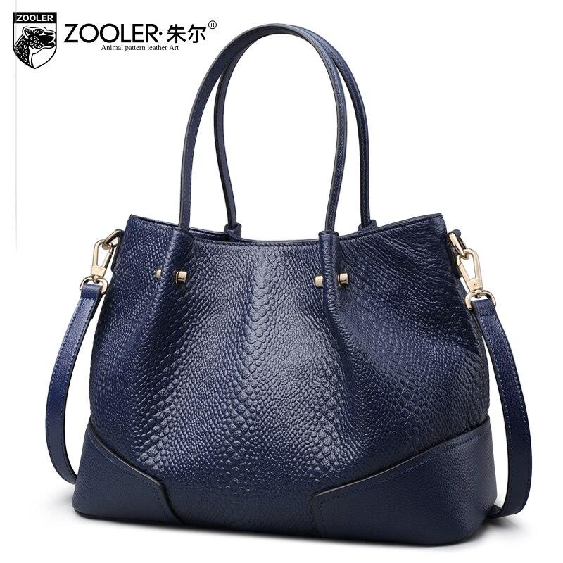 ZOOLER sacs pour femmes 2018 nouveaux sacs en cuir véritable sacs à main de luxe femmes sacs designer bolsa feminina #6189