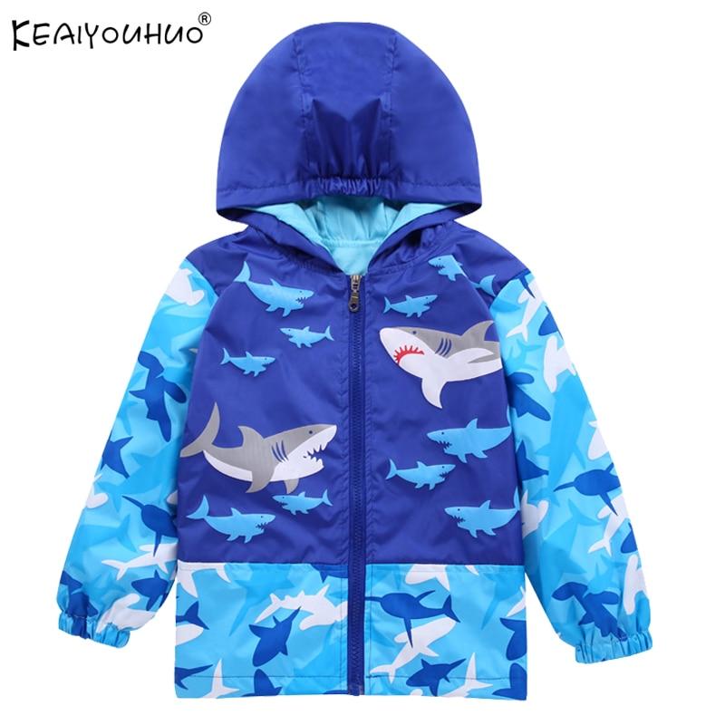 Children Sweatshirt 2018 New Girls Coats Cartoon Hoodie Jackets For Boy Windbreaker Sweater Kids Long Sleeve Windproof Outerwear