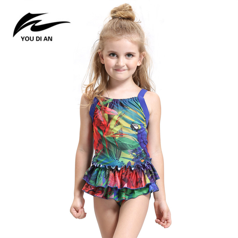 1161da62430 Child String Bikini Boutique Toddler Swimsuits: 2016 New One Piece Swimwear  Cute Baby Toddler Kids Floral