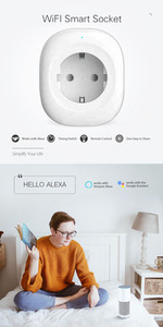 Image 5 - WIFI スマート充電器 EU プラグ 220 V 16A リモコン音声制御スマートタイミングスイッチ作業 Amazon の Alexa/ google アシスタント