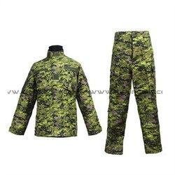 Uniforme militar del ejército de los EE. UU. Para los hombres uniforme del ejército canadiense cadpatch BDU [CL-02-CA]