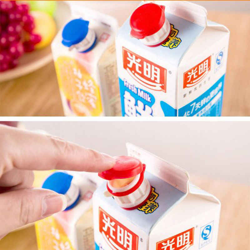 Beautiful mini-transmission with lid drink box milk drink extended mouth baby safety