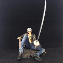 One Piece Injured Trafalgar Law Action Figure 18cm