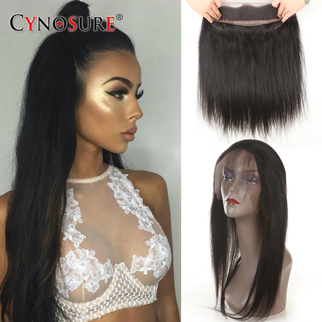 Ear To Ear 360 Lace Frontal With Bundles Stright Human Hair 360 Lace Frontal With Bundles Brazilian Straight Hair With Closure