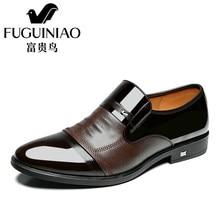214be71a0d Moda de lujo casual hombres zapatos hombre vestido Zapatos Cuero auténtico  boda sapato masculino pisos ocio