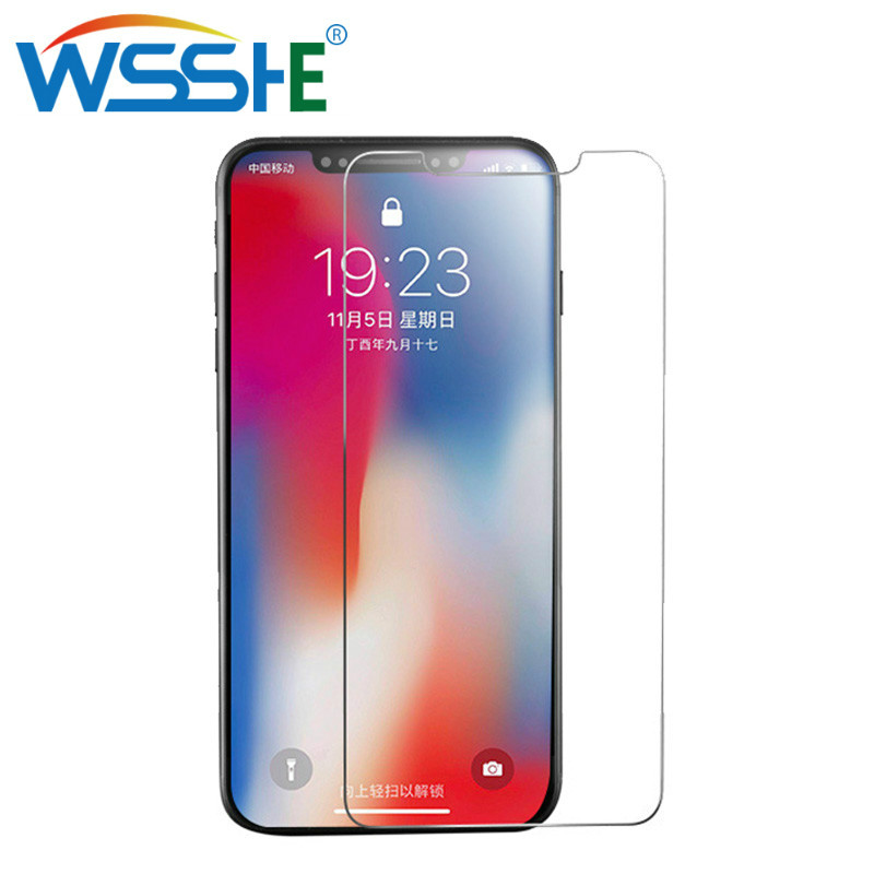 Tempered Glass For iphone XS MAX 8 7 6 Plus screen