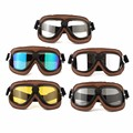 Motorcycle Scooter Helmet Goggles Glasses Motorcross Outdoor Sports Eyewear ABS PC lens