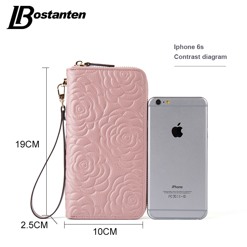 bostanten carteira floral mulheres de Lining Material : Microfiber Synthetic Leather+polyester