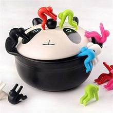 Высокое качество, модный 2 шт приподнятие крышки, предотвращает перелив супа, инструменты, кухонный держатель, креативный злодей, подарок, дропшиппинг