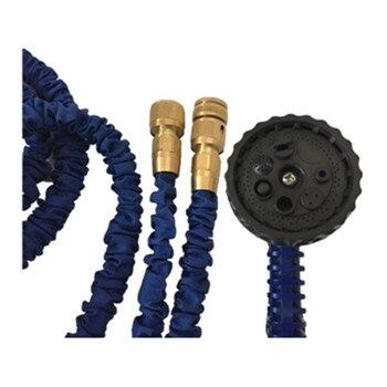 50 Meter Kupfer Joint Blau Erweitern Flexible Garten Wasser Schlauch Bewässerung Bewässerung Erweiterbar Schläuche Rohr