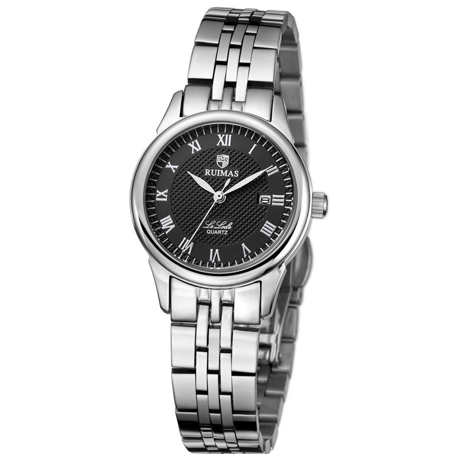 Wielka wyprzedaż RUIMAS Moda Zegarek Kwarcowy Kobiety Zegarki - Zegarki damskie - Zdjęcie 2