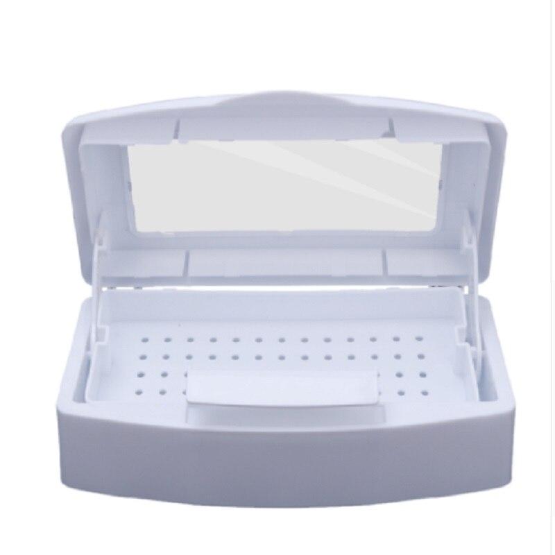 Pro Nagel Sterilisator Desinfektion Box Nail art Nipper Pinzette Desinfektion Reiniger Sanitizer Nagel Maniküre Ausrüstung Werkzeuge