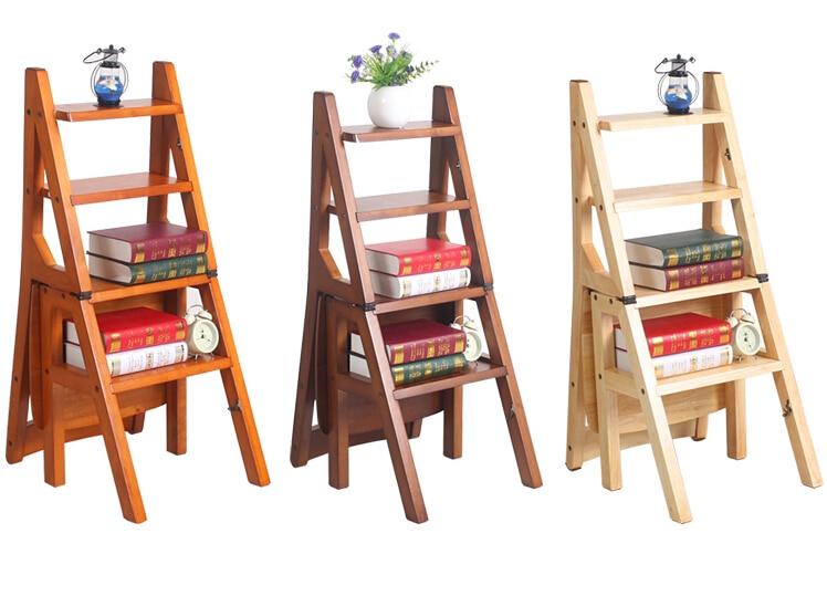 tienda online de cuatro pasos escalera biblioteca silla convertible en color biblioteca muebles silla de madera plegable escalera de mano