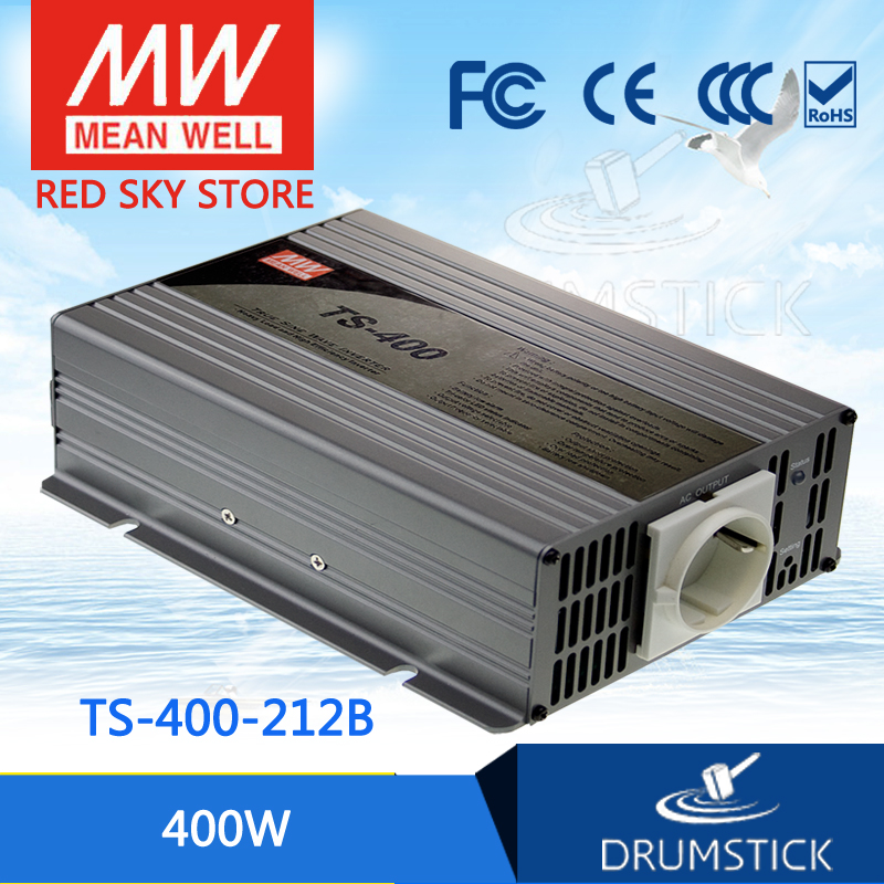 цена на Selling Hot MEAN WELL TS-400-212B EUROPE Standard 230V meanwell TS-400 400W True Sine Wave DC-AC Power Inverter