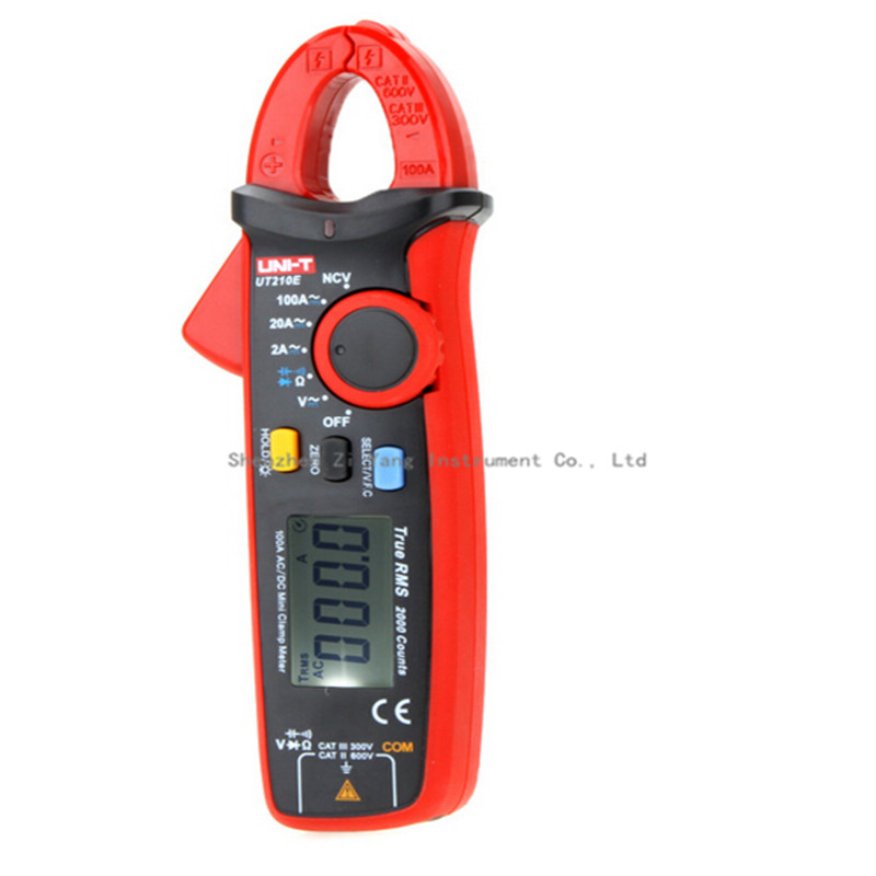 10pcs/lot Uni-t UT210E w/capacitance Tester Multimeter True RMS AC/DC Current Clamp Digital Multimeter LCR Meter Megohmmeter мультиметр multimeter 5818 ac dc w