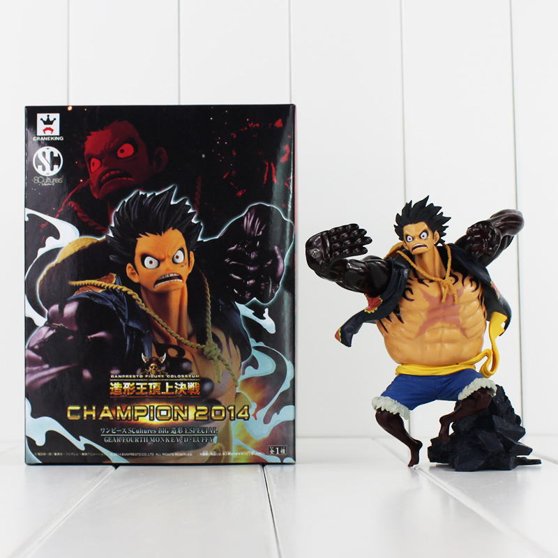 New Arrival Anime One Piece Figure Toy Gear 4 Luffy PVC Action Figure Cool Model for Collection 14cm Free Shipping 2017 new death note l ryuuku ryuk pvc action figure anime collection model toy dolls 24cm