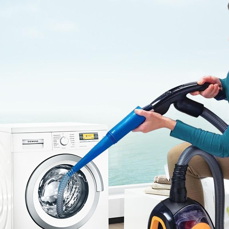 Secador de ventilación herramienta de polvo accesorio de aspiradora azul de limpieza que conecta el hogar 51-100 metros cuadrados tubo