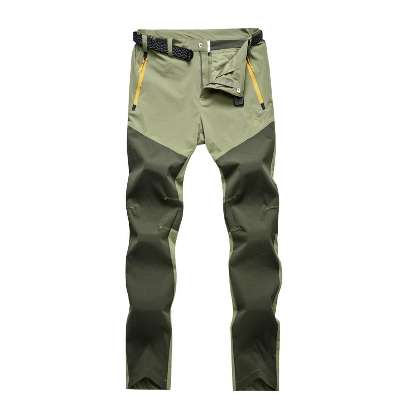 ФОТО Summer Outdoor Pants Women Camping&Hiking Pants Nylon Quick-Drying Waterproof Thin Solid Fishing Trekking Climbing Pants Female