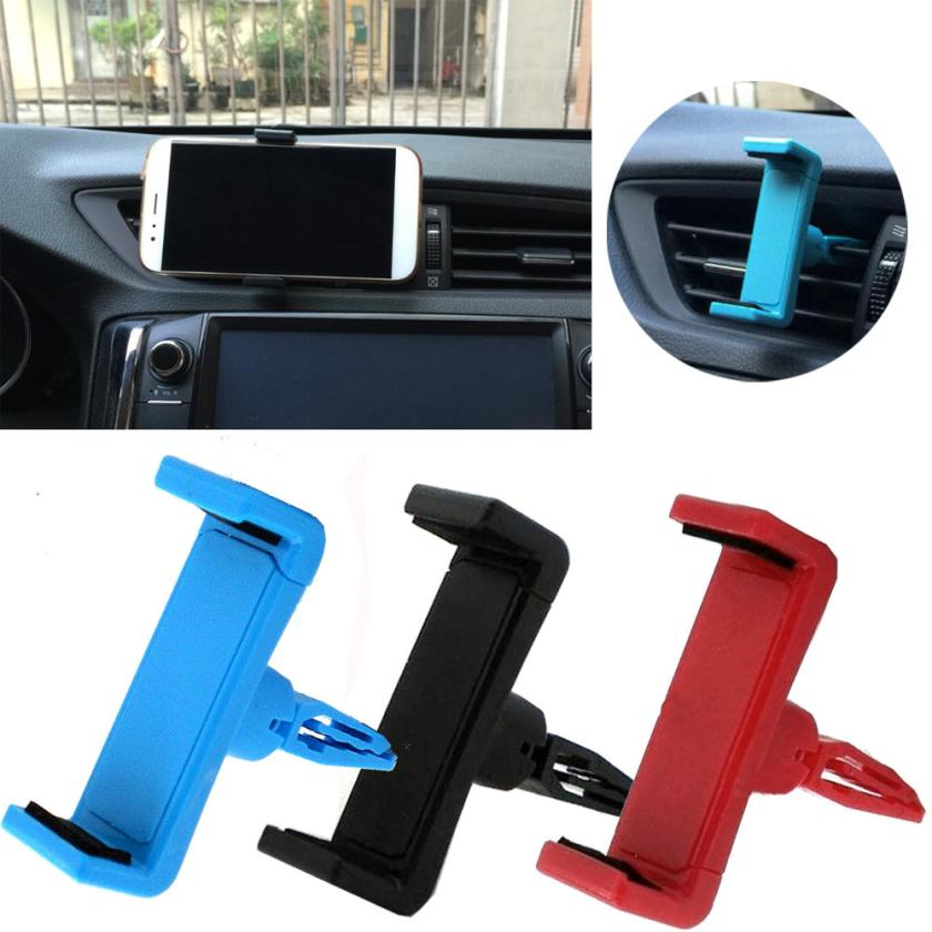 Universal Car Air Vent Stand Mount Cradle Holder For Cell Phone SmartPhone June19 Drop Shipping vertical stand mount holder cradle for ps4 grey
