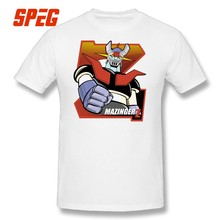 Tee Shirts Men s Mazinger Z T Shirt Men Crazy Short Sleeved 100% Cotton Big  Size T-shirts Funky Men O-Neck Tops a4208309d401
