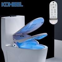 KOHEEL Intelligent Toilet Seat Temperare display Smart Toilet Cover Electric Remote Toilet Body Bidet Cleaner heating seats