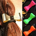 Free Shipping 1pc Punk Polish Metal Bow Tie Hair Band Cuff Wrap Tail Rope Holder Headband Hot