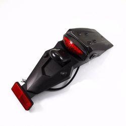 Off road MX podwójny Sport Pit Motor terenowy LED tylny błotnik światło końca hamulca lampa silnika -