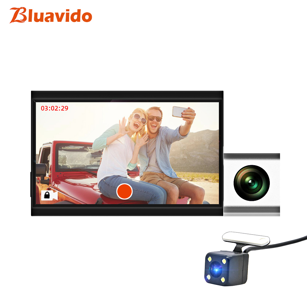 Bluavido Car-Dvr-Camera Gps-Tracker Remote-Monitor Auto-Video-Registrator-Recorder G-Sensor