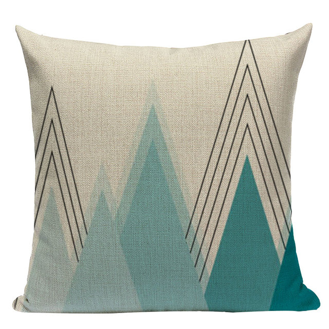 Nordic Pop Geometric Pillowcase Size: L313 Color: L313-12