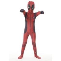 Free Shipping Deadpool Kid Costume With Mask Deadpool Cosplay Costume Superhero Cosplay Suit Halloween Kid Costumes