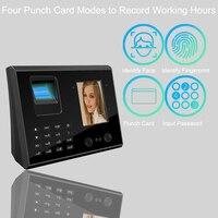 Eseye Биометрия лица Фингерпринта TCP/IP USB Время часы доступа Управление часы помощь сотрудников офиса устройства