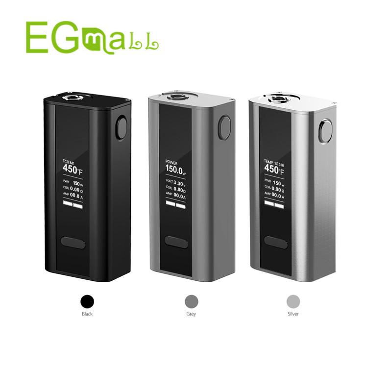 Prix pour Joyetech cuboid 150 w tc boîte mod cigarette électronique vapeur avec écran oled vs wismex rx200s rx2/3 mécanique mod