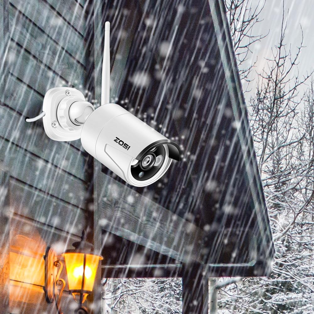 ZOSI 8CH CCTV sustav Bežični 1080P NVR 8PCS 1.3MP IR vanjski P2P - Sigurnost i zaštita - Foto 4