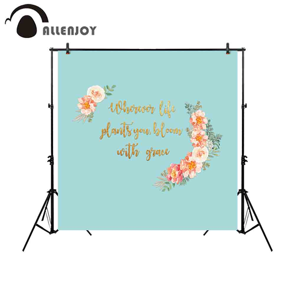 medium resolution of allenjoy backdrop for photographic studio pure color wedding communion baptism flowers customize background printed photocall