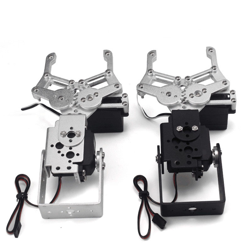 Aluminum robot arm gripper mounting kit w / 2 MG996 Servo stearns 0924 re arm kit