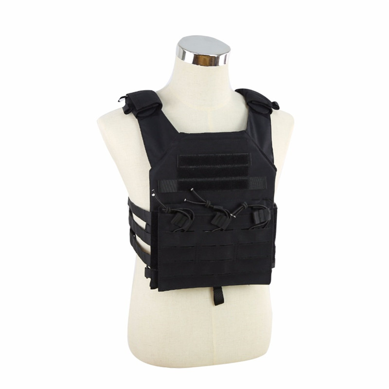 WoSporT Outdoor Hunting Vest Military Tactical 500D Nylon MOLLE JPC Shooting game Body Armor Rig Plate Carrier Airsoft Paintball wosport military hunting vest enhanced tactical 500dnylon molle jpc shooting game body armor rig plate carrier airsoft paintball
